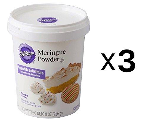 Bulk Buy: Wilton Meringue Powder 8 Ounces W7026015 (3-Pack)