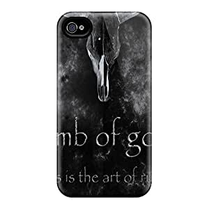 Iphone 4/4s HNq12776bjSu Allow Personal Design Trendy Lamb Of God Image Shock Absorption Hard Phone Case -InesWeldon