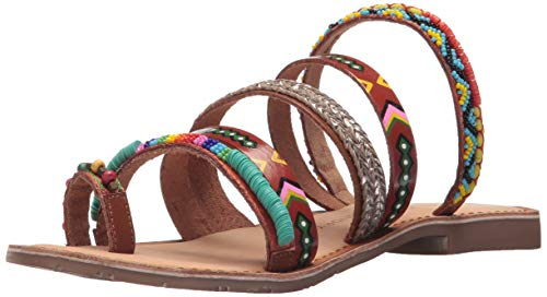 Chinese Laundry Women's Pandora Flat Sandal, TAN Multi 7 M US]()