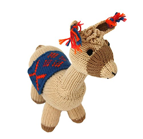 Cotton Llama Stuffed Animal – A Hand Made, Fair Trade Toy From Peru