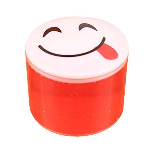 Kanzd Clay Slime DIY Crystal Mud Play Transparent Magic Plasticine Kid Toys (Red) (Strawberry Halloween Costume Diy)