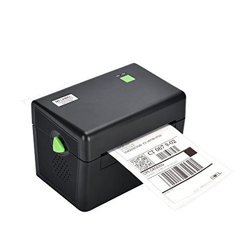 MFLABEL Printer - Commercial Grade Direct Thermal High Speed Printer - Compatible with Etsy, eBay, Amazon - Barcode Printer - 4x6 Printer - Commercial Label Printers
