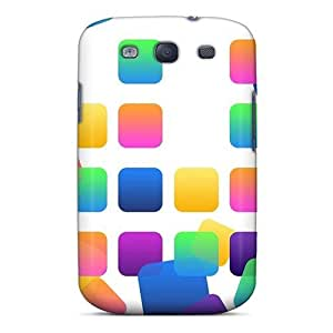 Fashion Protective App Slots Case Cover For Galaxy S3