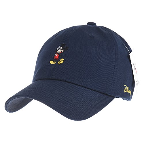 WITHMOONS Disney Mickey Mouse Embroidery Baseball Cap CR1355 (Disney Cap)