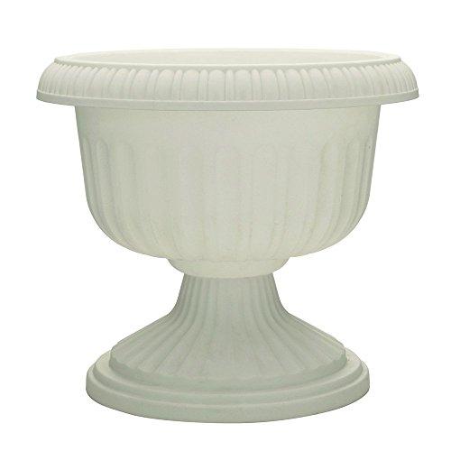Att Southern UR1212WH 12-Inch White Grecian Urn Planter - Qu
