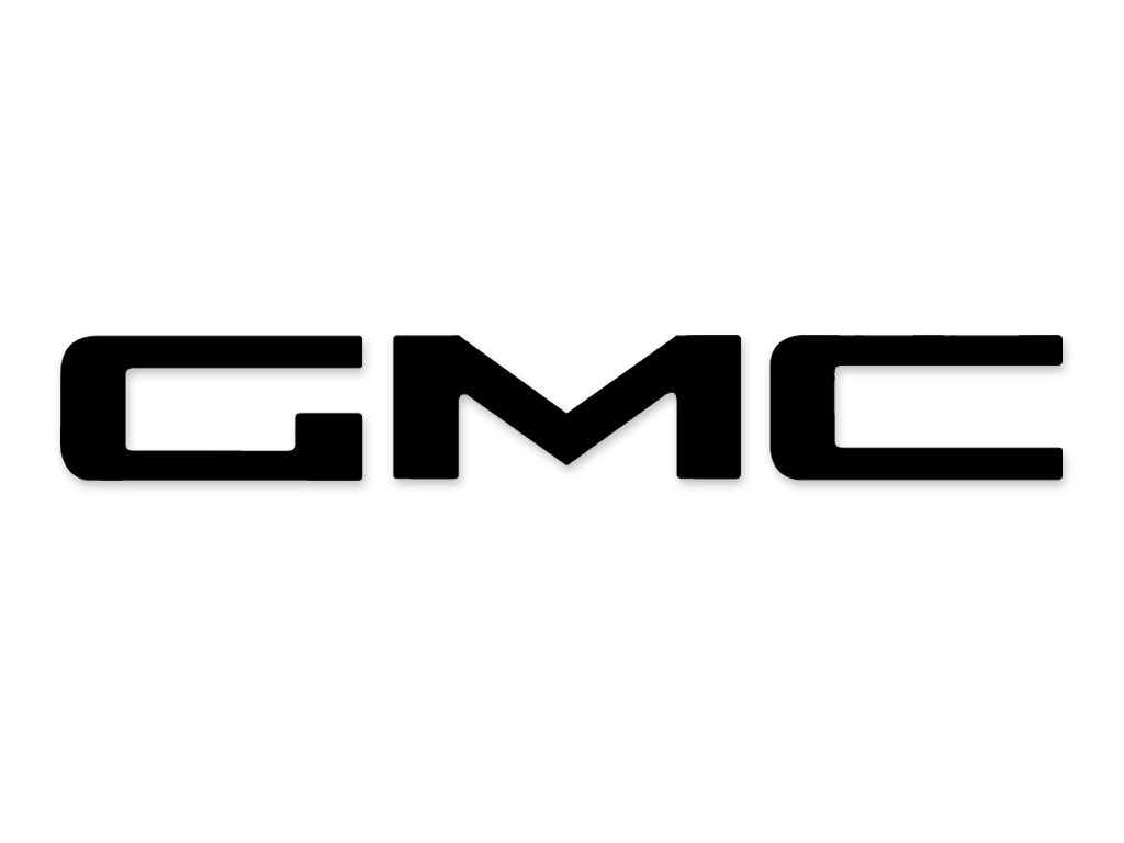 "1947 1948 1949 1950 1951 1952 1953 1954 GMC 2.75/"" Tailgate Name Decal Graphic"