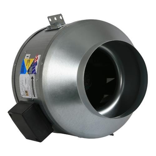 Series Fkd (Fantech Indoor Inline Mixed Flow 8 in Fan FKD 8XL 837 CFM)