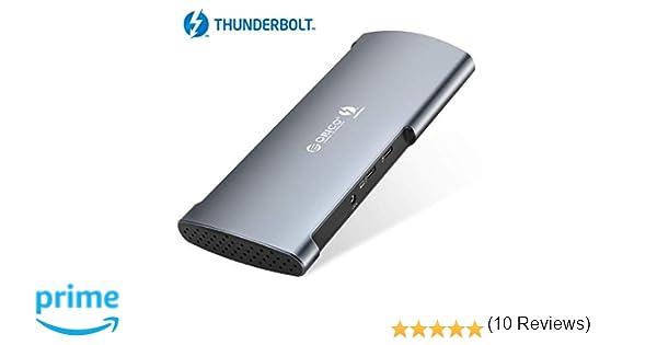 ORICO Thunderbolt 3 Docking Estación de Soporte DisplayPort 8K ...