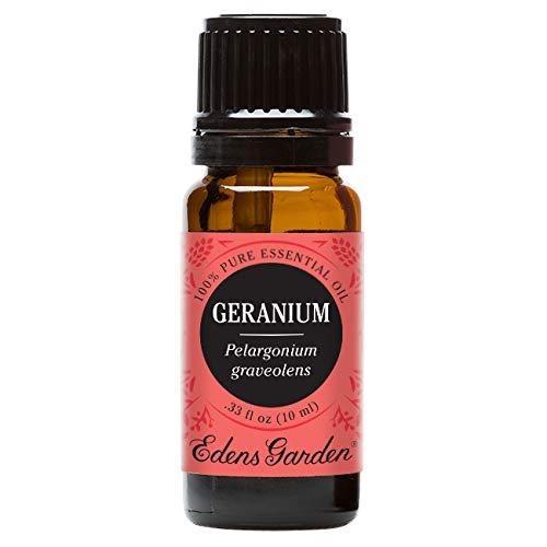 Edens Garden Geranium 10 ml 100% Pure Undiluted Therapeutic Grade Essential Oil GC/MS Tested