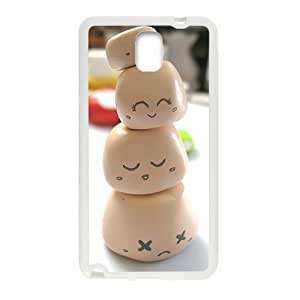 smile Milky white Macarons for Samsung Galaxy Note 3 Hard Case yiuning's case
