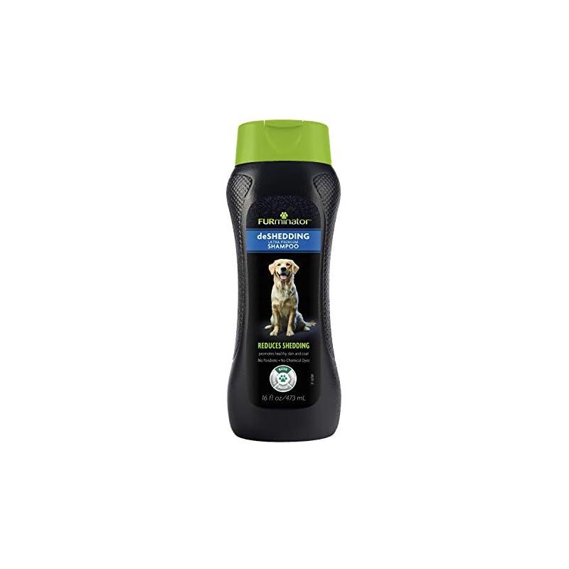 dog supplies online furminator deshedding ultra premium dog shampoo, 16-ounce