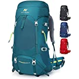 NEVO RHINO 45/50L Internal Frame Hiking Backpack,Ultralight Daypack for Camping Backpacking…