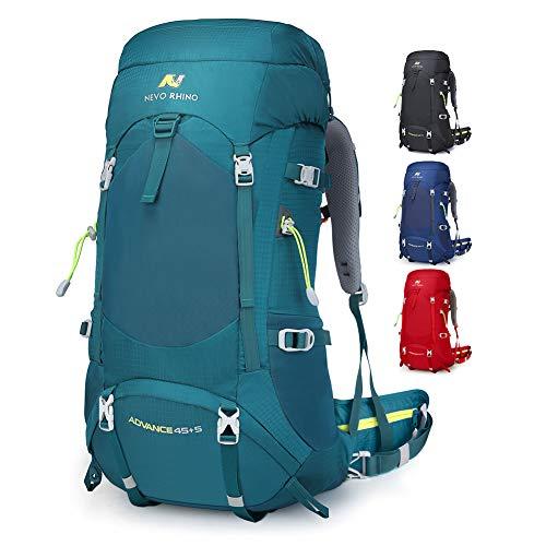 NEVO RHINO 45L / 50L Internal Frame Backpack,Ultralight Daypack for Hiking, Camping