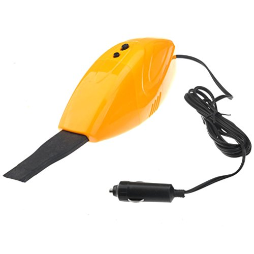 NUOLUX OM-5007 Portable Powerful DC 12V Car Use Vacuum Cleaner Dust Collector (Yellow)