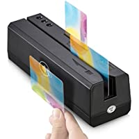 OSAYDE880 USB Credit Card Reader - 8-In-1 Magstripe & IC & NFC & Psam Cards Reader and Programmable Writer with Free Blank Cards, IC Cards Writing Only For ADPU Professional