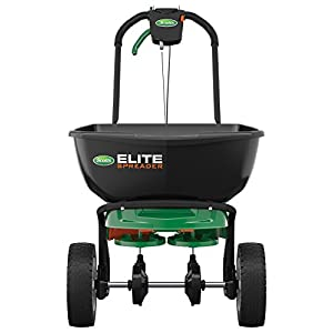 Scotts 75902 Elite Broadcast Spreader with Edgeguard, 20,000 sq. ft. -25 lbs