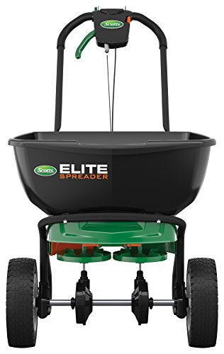 Scotts Elite Broadcast Spreader with EdgeGuard (Ice Elite)
