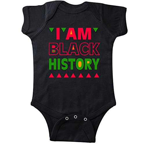 inktastic - I am Black History Infant Creeper Newborn Black 289b1