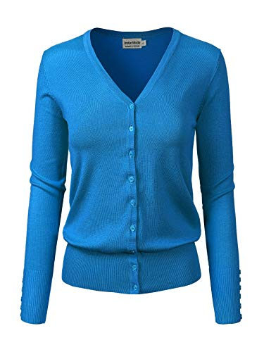 Instar Mode Women's Classic Button Down Long Sleeve for sale  Delivered anywhere in USA