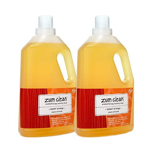 - Zum Laundry Soap,Sweet Orange,64 oz.(2-Pack)