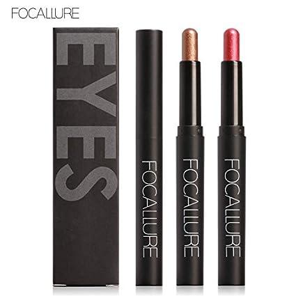 elegantstunning 12 Colors Long Lasting Smooth Shimmer Eyes Makeup Liner Pearl Eyeshadow Pencil