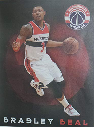 "FATHEAD Bradley Beal Washington Wizards Official NBA Vinyl Wall Graphic 18""x13"" INCH"