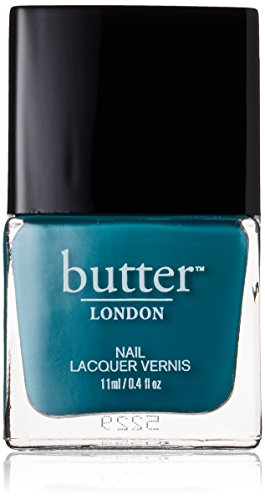butter LONDON Nail Lacquer, Black & Blue Shades, Slapper