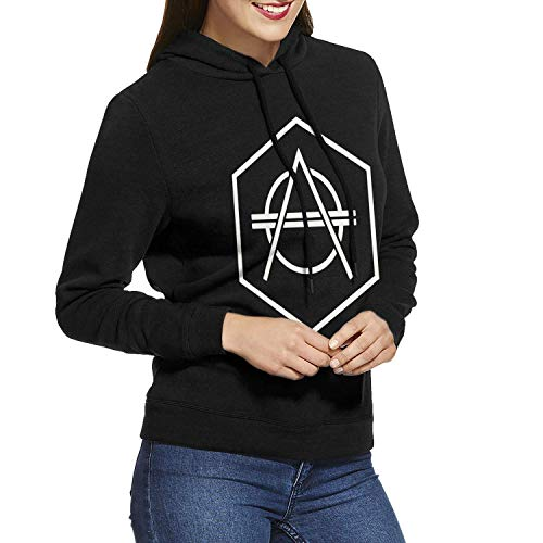 (LSalas Don Diablo Women Long Sleeve Classic Pullover Print Hoodie Hooded Sweatshirt Drawstring)