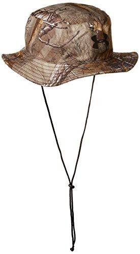 (Under Armour Men's Camo Bucket Hat, Realtree Ap-Xtra /Black, One Size)