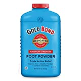 Gold Bond Maximum Strength Foot Powder, 10