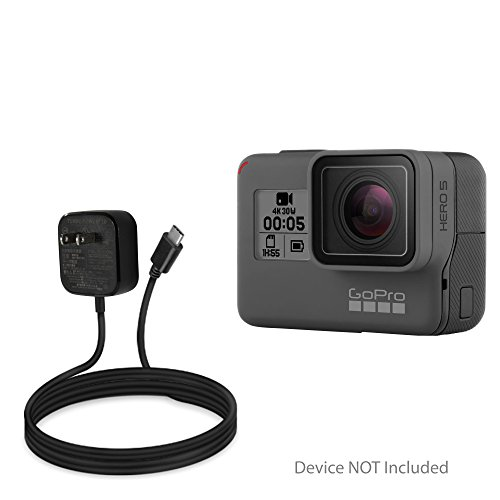BoxWave GoPro Hero5 Black Charger,  Wall Plug Charger for Go