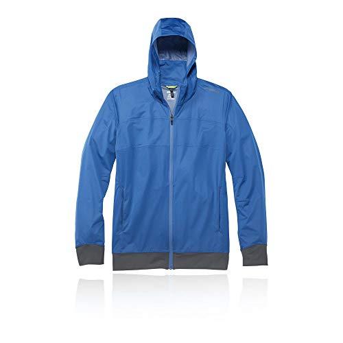 (Brooks Hideout Jacket - X Large - Blue)
