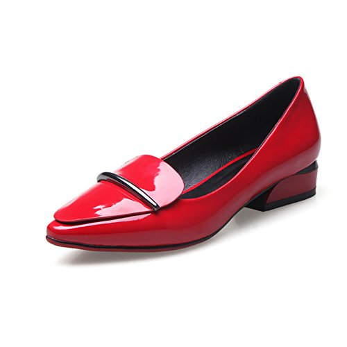 La versión coreana del punto bajo en los zapatos de luz de primavera/zapatos cuero A