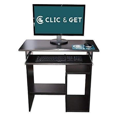 DRULINE Mesa de portátil/Ordenador PC Mesa Escritorio ...