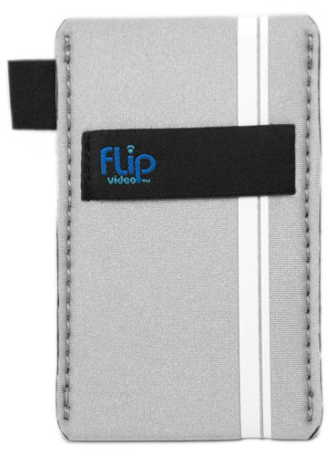 Flip Soft Pouch for Flip Ultra and Mino Camcorders (Grey)