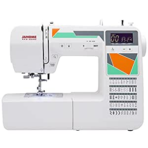 Janome mod 50 computerized sewing machine with for Arts and crafts sewing machine