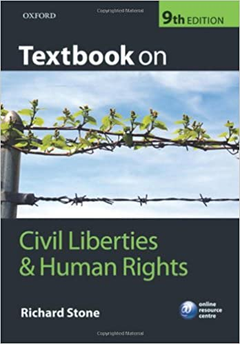 Textbook on Civil Liberties and Human Rights: Richard Stone