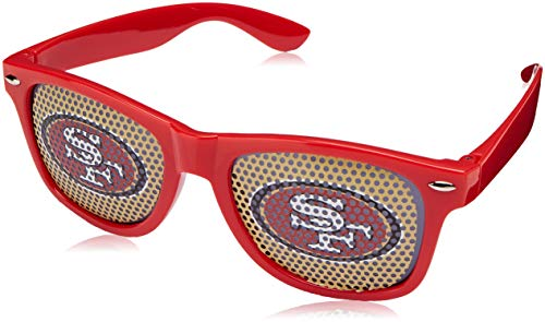 (NFL San Francisco 49ers Game Day Shades Sunglasses)