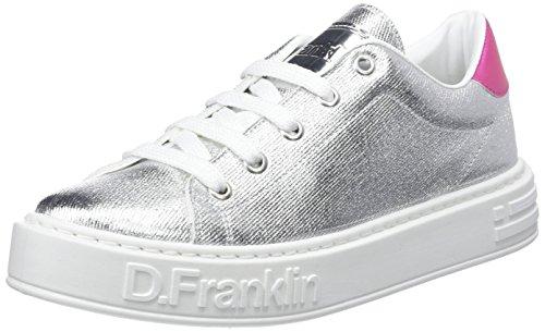 Scarpe Franklin Argento Basse Ginnastica silver Da D Gumme Metal Donna qg1w4BtA