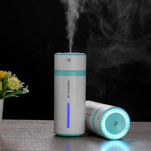 SYlive Ultrasonic Air Humidifier, Fogger LED Oil Aroma Diffu