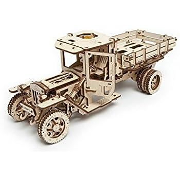 Amazon.com: UGEARS Locomotive Mechanical 3D Puzzle Eco