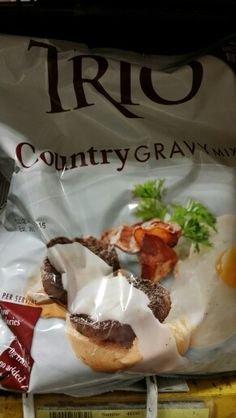 Trio Country Gravy Mix 22 Oz (3 Pack)
