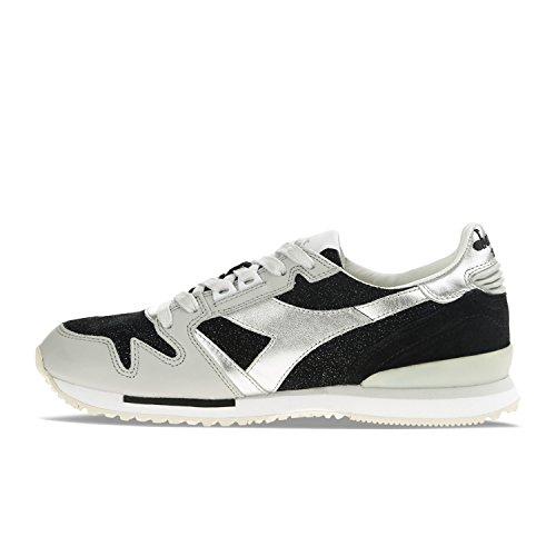 Noir Femme W Glitter Sneakers Heritage Diadora 80013 Exodus Pour YtC8xqU