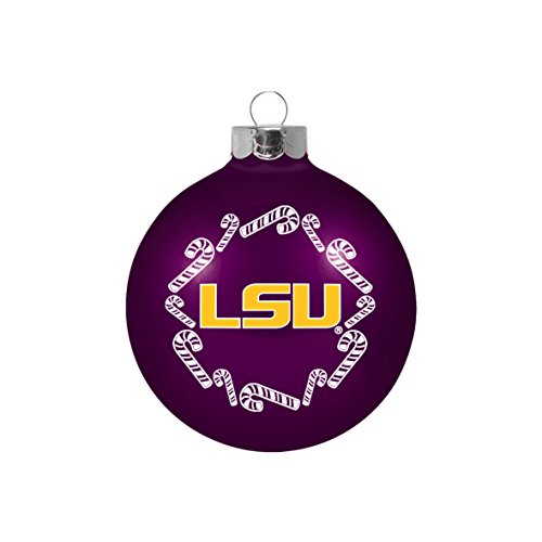 Tigers Candy Cane Ornament - 7