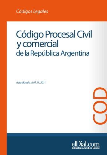 Descargar Libro Código Procesal Civil Y Comercial De La República Argentina Editorial Albrematica