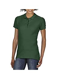 Gildan Softstyle Womens/Ladies Short Sleeve Double Pique Polo Shirt