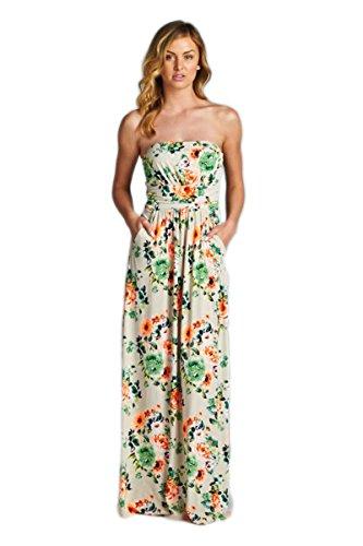 """c00de8f7756 Vanilla Bay """" So Many Petals"""" Maxi Dress"""