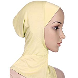 Academyus Women's Muslim Islamic Hijab Underscarf Head Scarf