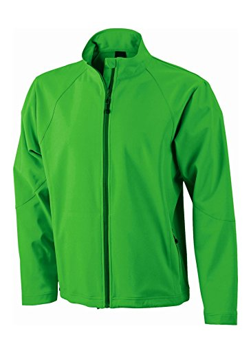 Softshell Uomo Men's Green Giacca Jacket In nPaxBqwBvO