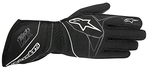 Alpinestars TECH 1-ZX Gloves (Black/White, XX-Large) by Alpinestars